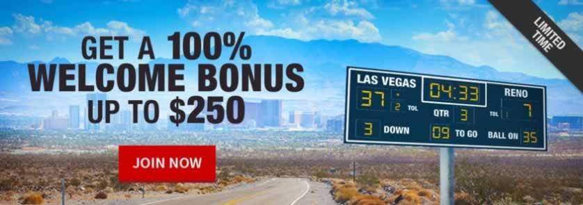 bovada 100 welcome casino bonus